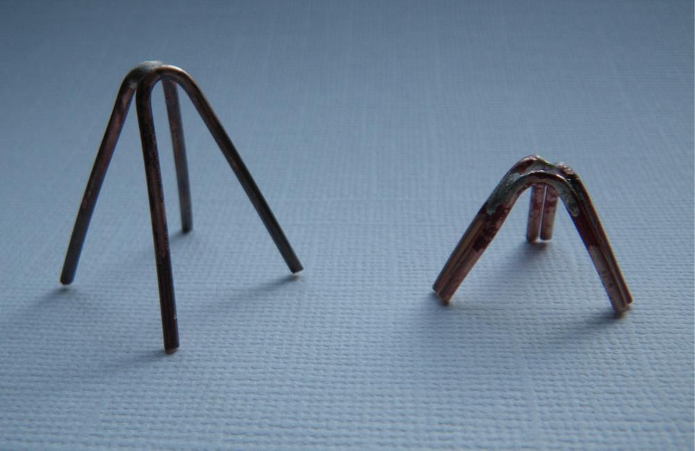 wire jigs | Barbara S Fernald Jewelry